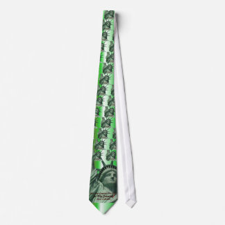 Statue of Liberty Crying Tie