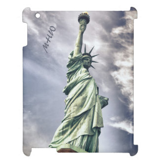 Statue of Liberty custom monogram device cases Case For The iPad