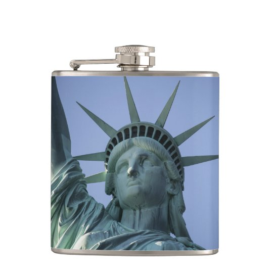 Statue of Liberty custom name flask