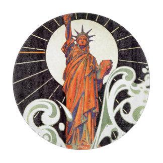 Statue of Liberty Cutting Board