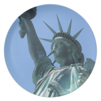 Statue of Liberty Dinner Plate
