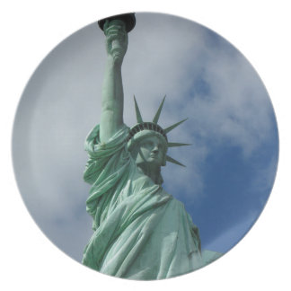 Statue of Liberty Dinner Plates