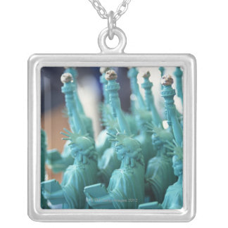 Statue of Liberty Doll Silver Plated Necklace