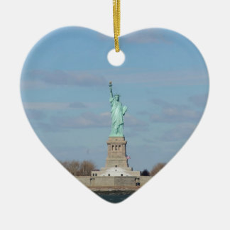 Statue Of Liberty Ellis Island Christmas Ornament