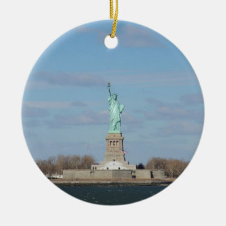 Statue Of Liberty Ellis Island Christmas Ornament