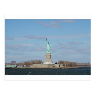Statue Of Liberty Ellis Island Postcard