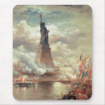 Statue Of Liberty Enlightening the World Mousepads
