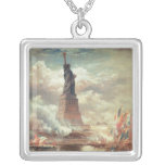 Statue Of Liberty Enlightening the World Custom Necklace