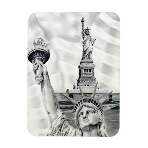 Statue of Liberty Flexible Magnet