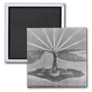 Statue of Liberty, from 'The Graphic' Magnet