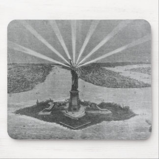 Statue of Liberty, from 'The Graphic' Mouse Mat