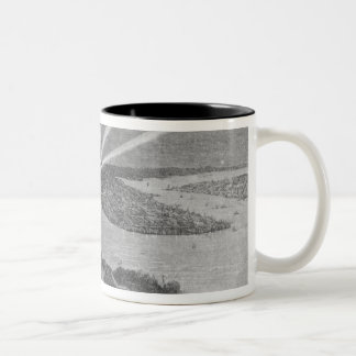 Statue of Liberty, from 'The Graphic' Two-Tone Coffee Mug