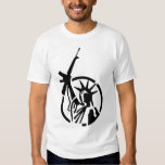 Statue of Liberty holding an AR-15 up high! Shirts