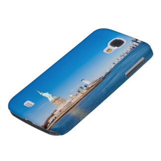 Statue of Liberty, Hudson River and Manhattan Galaxy S4 Case