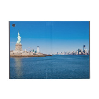 Statue of Liberty, Hudson River and Manhattan iPad Mini Case