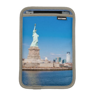 Statue of Liberty, Hudson River and Manhattan iPad Mini Sleeve