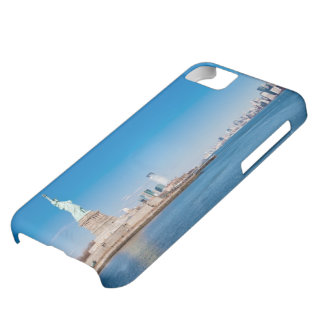 Statue of Liberty, Hudson River and Manhattan iPhone 5C Case
