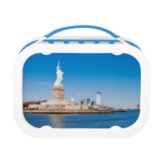 Statue of Liberty, Hudson River and Manhattan Lunchboxes
