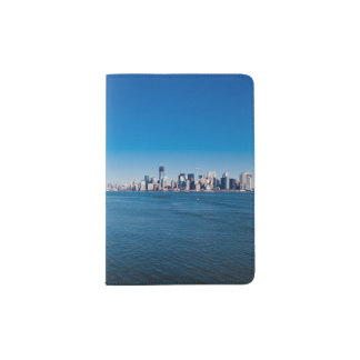 Statue of Liberty, Hudson River and Manhattan Passport Holder
