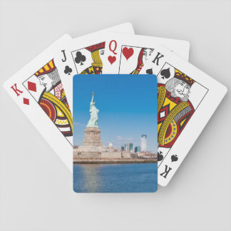 Statue of Liberty, Hudson River and Manhattan Playing Cards