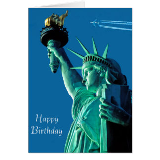 Statue of Liberty image for birthday-greeting-card Card