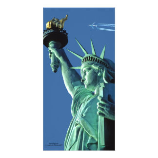 Statue of Liberty image for photocard Photo Greeting Card
