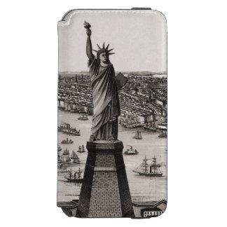 Statue Of Liberty In New York Harbor Incipio Watson™ iPhone 6 Wallet Case