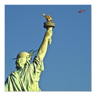 Statue of Liberty Personalized Invites