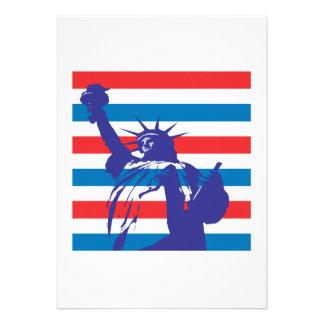 Statue Of Liberty Personalized Invite