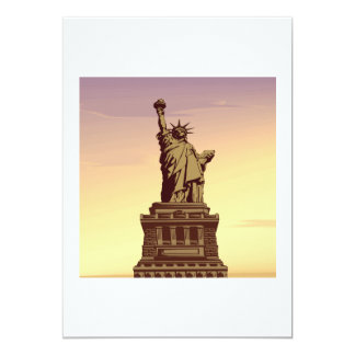 Statue Of Liberty Invites