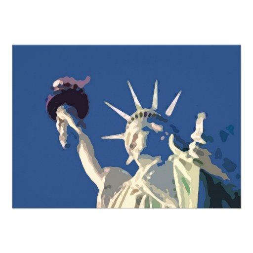 Statue of Liberty Invitation