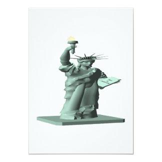 Statue Of Liberty Custom Invites