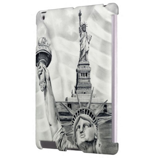 Statue of Liberty iPad Barely There Case