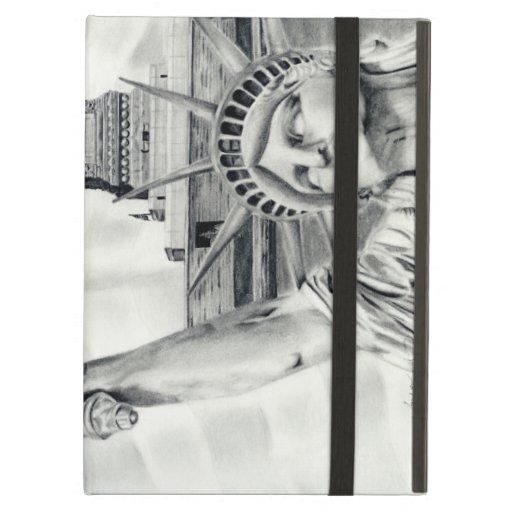 Statue of Liberty iPad Powis iCase iPad Folio Cases