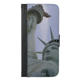 Statue of liberty iPhone 6/6s plus wallet case