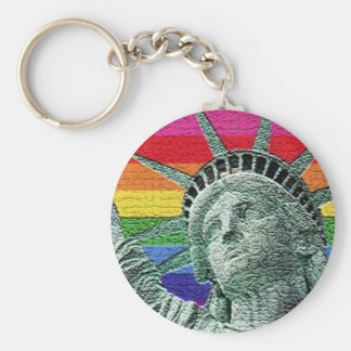 statue of liberty key ring