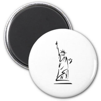 Statue of Liberty Refrigerator Magnets