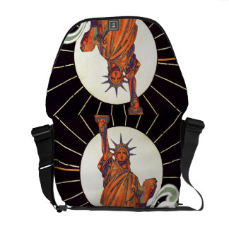 Statue of Liberty Messenger Bags