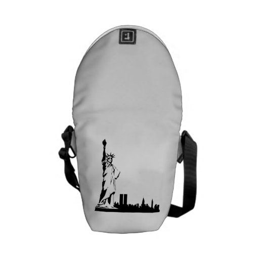 Statue of Liberty Courier Bags