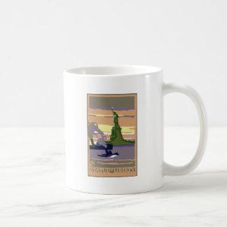 Statue Of Liberty Classic White Coffee Mug