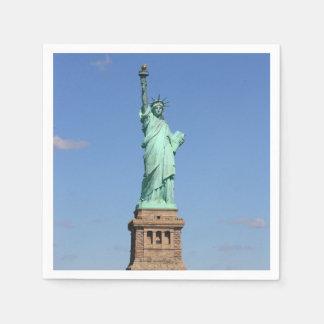 Statue of Liberty Napkins Disposable Serviettes