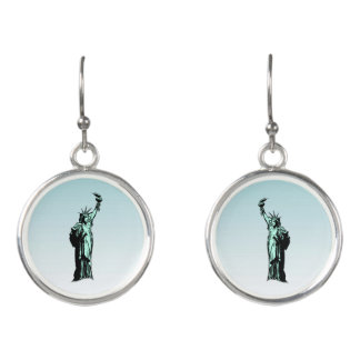Statue of Liberty Nation of Immigrants Earrings