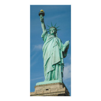 Statue of liberty, New York 10 Cm X 23 Cm Rack Card