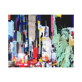 Statue of Liberty New York Canvas Print