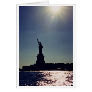 Statue of Liberty, New York Card
