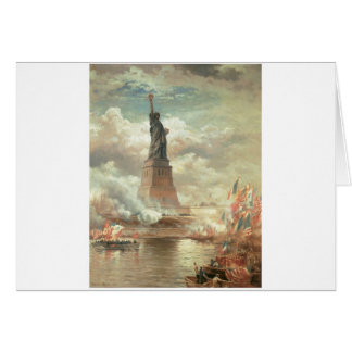 Statue of Liberty, New York circa 1800's Card