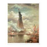 Statue of Liberty, New York circa 1800's Postcard