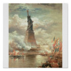 Statue of Liberty, New York circa 1800's Poster
