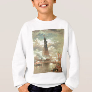 Statue of Liberty, New York circa 1800's Sweatshirt