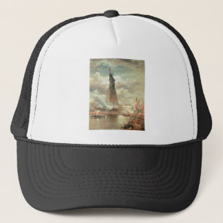 Statue of Liberty, New York circa 1800's Trucker Hat